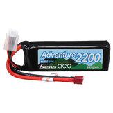 GENSACE ADVENTURE 11.1V 2200mAh 50C 3S T Plug Lipo Batería para RC Coche