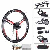 26'' 36V 300W Electric Bicycle Rear Wheel Hub Motor E-Bike Cycling Conversion Kit 25KM/H
