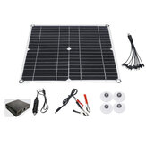 80 W 12 V Monocristalino Painel Solar Charge Controller W / Dual USB para camping