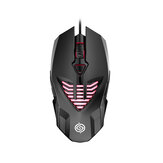 Q1 Wired Game Mouse Breathing RGB Colorful 3200DPI Gaming Mouse USB Wired Gamer Mice for Desktop Computer Laptop PC
