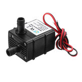 Machifit QR30E Ultra-leise Mini Brushless Pumpe DC 12V 4.2W 240L / H Durchflussrate Tauchwasser Pumpes
