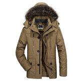 SıcakWindproofSuGeçirmezKapüşonluOutdoor Ceket