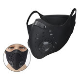 Viso filtro carbone attivo Maschera Anti Dust Haze Bicycle Riding Black