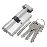 Alüminyum Ev Güvenliği Kilit Silindir Kapı Dolabı Kilit 3 Anahtarlı 89 × 29mm