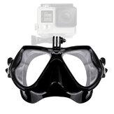 Buceo Mascara con Cámara Esnórquel profesional de vidrio templado con montura Mascara Equipos de equipo de buceo deportivo subacuático