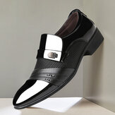 Men Microfiber Business Soft Formal Dress Shoes