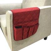 Wodoodporna rozkładana sofa Organizer do przechowywania tabletów TV Remotes Telefony 4-kolorowe torba do przechowywania
