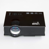 UNIC UC68 multimedia Home Theatre 1800 lumens Led Projector with HD 1080p Projector