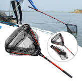 LEO Retractable Folding Fishing Net Süßwasser-Fischereischaufel-Angelwerkzeuge