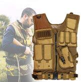Chasse Gilet Tactique Multi-poches Militaire Molle Magazine Léger CS Assaut De Protection En Plein Air