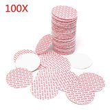 100Pcs 48 à 70mm Pression Sensitive Liner Foam Safety Tamper Seals pour Jar's Lid Bottle