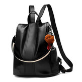 Women Lady Girls School Leather Backpack Outdoor Travel Handbag Portable Shoulder Bag