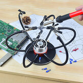 NEWACALOX Soldering Iron Holder Soldering Station USB 6Pcs Flexible Arms Third Hand Welding Tool