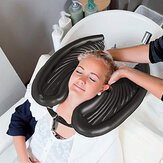 Portable Inflatable Rinse Basin for Washing and Cutting Hair at Home and in Bed Without a Salon Chair