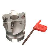 BAP 400R-50-22-5F 50mm 5 Flutes cortador de moinho de extremidade indexável para inserto APKT 1604