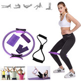 5 Stück Mix Resistance Bands Pilates Ring Gummiband Fitness Yoga Trainingsgeräte
