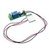 12V One Canal de tecla capacitiva táctil Sensor Módulo Botón de encendido de la computadora con función de autobloqueo de relé
