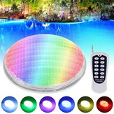 36W RGB LED Remote Control Underwater Swimming Pool Light Waterproof IP68 Embedded AC/DC12V