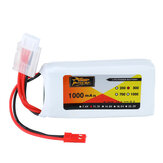 ZOP Power 11.1V 1000mAh 3S 30C Lipo Bateria Plugue JST