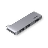 Ugreen Laptop Docking Station Type-c Expansion to USB HDMI Hub Adapter Port Connection For Notebook