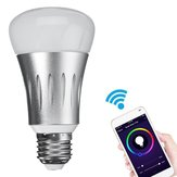 E27 7W RGBW WIFI APP Control LED Smart Light Bulb Works With Alexa AC85-265V