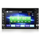 GPS Navigatie HD 2DIN 6.2 inch Car Stereo DVD-speler Bluetooth iPod MP3 Camera