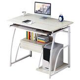 Biurko komputerowe z drewna Study Laptop PC Table Workstation Writing Home Office Desk