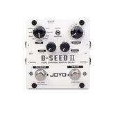 JOYO D-SEED II Stereo PingPong Effect Gitaar Pedaal Delay Looper Functie Tape Opname Simulatie Kopie Analoge Reverse Effecten