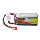 ZOP Power 11.1V 1500MAH 3S 30C Bateria Lipo T Plug do drona RC