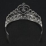 Oostenrijkse kristal diamant bruids haar kam kroon bruids bruiloft hoofdtooi accessoires