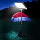 XANES® 100W 55LED 5500LM Wielofunkcyjna lampa kempingowa ze składanym statywem 2,1 m
