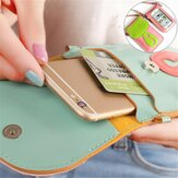 Multifunctional Tough Screenn Case Cat Umbrella Phone Bag Wallet Case for under 6-inch Smartphone