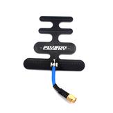 Turbowing 2.4GHz 7.5dBi Ganho 10km Long Range Fishbone Flat FPV Antena SMA/RP-SMA Para RC Drone