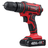 Original              48VF Cordless Electric Impact Drill Rechargeable Drill Screwdriver W/ 1 or 2 Li-ion Battery