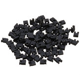 500pcs 2.54mm Jumper Cappuccio Corto circuito Pin Pin Connettore Block