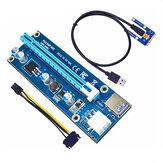 Placa gráfica independente ITHOO para laptop PCI-E externa Mini PCI-E1X para placa adaptadora 16X placa de expansão