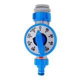 Zewnętrzny mechaniczny zegar nawadniania Automatyczny kontroler nawadniania roślin kwiatowych do systemu samodzielnego nawadniania ogrodu - niebieski