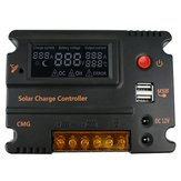 10A 12V 24V LCD Automatische USB Controller Batterijlading Zonnepaneel Automatische Switch