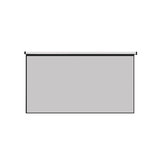 Thinyou Matte Grey Fabric Fiber Glass Wall Tenture Projector Screen 100 pouces 4: 3/16: 9 Projecteur Rideau pour Home Cinéma Cinéma Films Projecteur