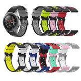 Bakeey 20/22 mm Largura Universal Sports Dot Padrão Soft Silicone Relógio Banda Substituição da alça para Samsung Galaxy Watch3 42 mm / 46 mm / Engrenagem do relógio Galaxy S3