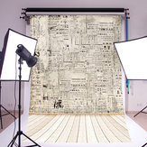 5x7ft parete carta pavimento in legno fondali fotografia studio fotografico puntelli sfondo