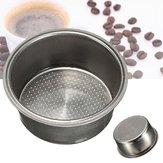 Filtro de café reutilizável para máquina de café Dia 51mm Filtro de filtro não pressurizado de aço inoxidável