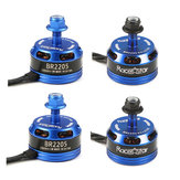 4X Motori Brushless Blu Scuro Racerstar Racing Edition 2205 BR2205 2300KV 2-4S per 210 X220 250 280 RC Drone