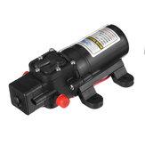12V / 24V Mini Diyafram Pompa Bot Kendinden Emişli Su Pompa Yüksek Basınçlı Outdoor Booster Pompa Yat RV için