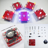Geekcreit®DIY Shaking LED Dice Kit with Small Vibration Motor
