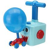 Balão de energia de inércia de ar Brinquedo Carro movido a pressão de ar Carro balão Brinquedos Divertido Educação Quebra-cabeça Festa de Natal