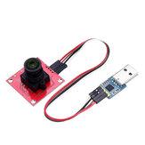 وحدة OV2640 الة تصوير التسلسلية مدخل إخراج JPEG مع لوحة المحول Geekcreit لـ Arduino Raspberry Pi ARM MCU - المنتجات التي تعمل مع لوحات Arduino Raspberry Pi ARM MCU الرسمية