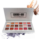 MAANGE 18 Couleurs Eye Shadow Palette Mermaid Maquillage