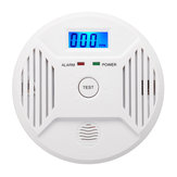 Digital LCD CO Carbon Monoxide Smoke Detector Alarm Poisoning Gas Warning Sensor