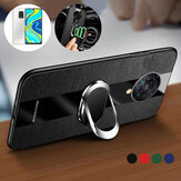 Bakeey for Xiaomi Redmi Note 9S / Redmi Note 9 Pro Case with Multifunctional Magnetic Ring Bracket Stand Shockproof Non-slip PU Leather Protective Case Non-original